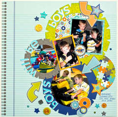Boys Will Be Boys *Doodlebug Design*