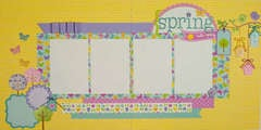 Spring Layout for Nat'l Scrapbook Day *Doodlebug Design*
