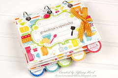 Recipe Book Mini Album *Doodlebug Design*