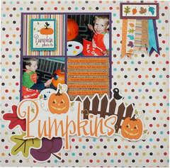 Pumpkins Layout *Imaginisce*