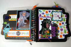 Halloween Costume Mini Album (Page 1-2) *Doodlebug*