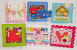 3x3 Mini Cards *Doodlebug Design*