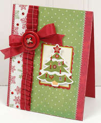 Christmas Tree Card *Imaginisce*