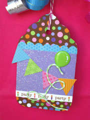 Cake and Ice Cream Party Gift Tag *Doodlebug Design*