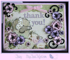 Thank You Card **Hollywood Vogue by Webster's Pages**