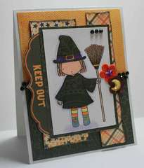 MFT PI Little Witch Card