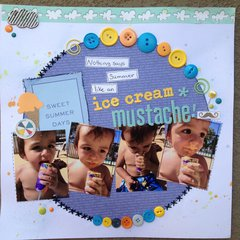 Ice Cream Mustache