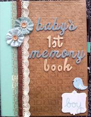 Baby's First Memory Book (Cover)