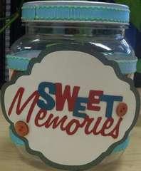 Sweet Memories Candy Jar (front)
