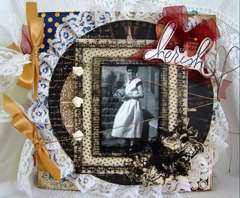 Vintage Family chipboard album