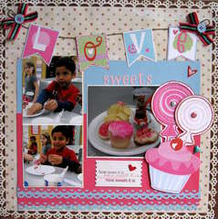 Love sweets......
