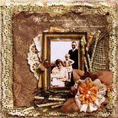 Darby Family, Summer 1918 ~~~ Swirlydoos