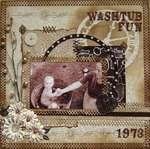 Washtub Fun 1973 ***Swirlydoos***