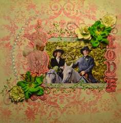 LOVE **Dec Scraps of Darkness Kit**