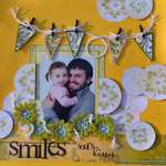 Smiles are the souls kisses