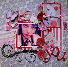 BE YOU *SCRAPS OF ELEGANCE* Feb LOVESONG Kit