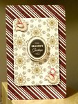 Loving this Neutral Color Christmas Card