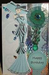 Kanban Crafts - My Fair Lady Blue
