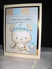 Baby Shower for a Boy Card