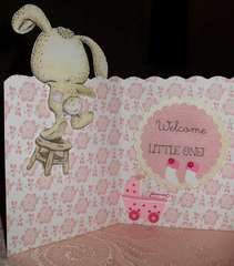 New Arrival - Inside of Card