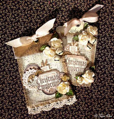 Burlap Tags * Graphic 45 *