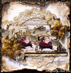Chalk ** Scrap That! December Kit **