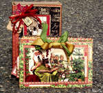 Christmas Emporium Altered Art Box & Calendar