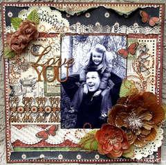 Love You * ZVA & Graphic 45 Design Team *