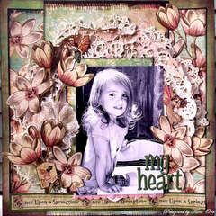 My Heart * Scrap That! March Kit *