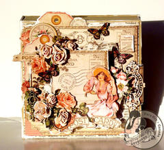 Place in Time Altered Art Box