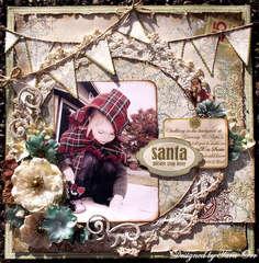 Santa Stops Here * Petaloo *