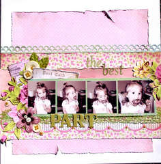 The Best Part *Scrap That! August Kit*