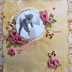 Dance with me for My Creative Scrapbook