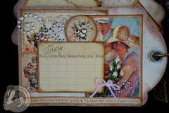 Place in Time 2013 Tag Calendar Album (June)