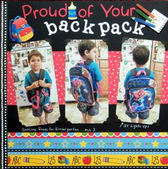 Proud of your Backpack