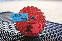 Hello friend **scrapbook Daisies**