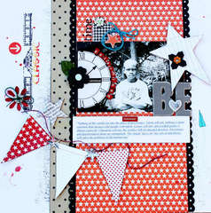 Be Determined **Scrapbook Daisies**