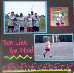 Run Like the Wind Layout