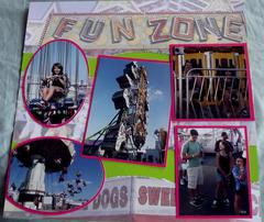 Fun Zone State Fair Layout