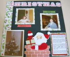 Christmas 1973 page 1 layout