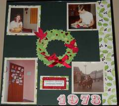 Christmas 1973 page 3 layout