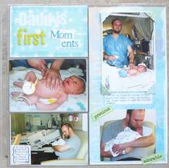 Daddy's first Moments