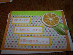 Lemon Card - Front