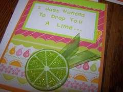 Lime Card