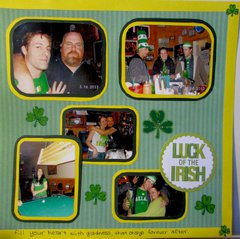 St. Patrick's Day - Right Page