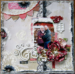 Love  ~C'est Magnifique Kits and Feb Sketch~