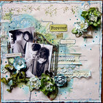 Forever and Always - May Sketch ~ C'est Magnifique Kits~