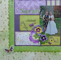 Bridesmaids ~ Sarah