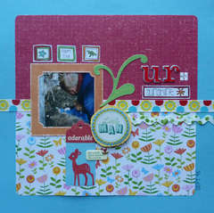 Adorable Little Man ~ February Ugly Paper