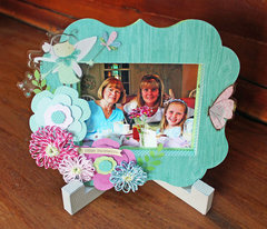 May Flowers Frame for The Twinery